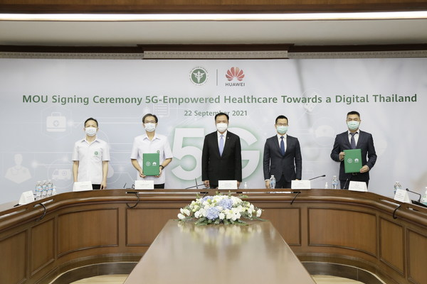 Huawei, Thailand Medical Services Dept Sign MoU for 5G Healthcare