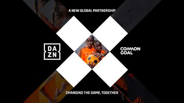 DAZN Dan Common Goal Bersatu Dalam Kerjasama Global Berbilang Tahun