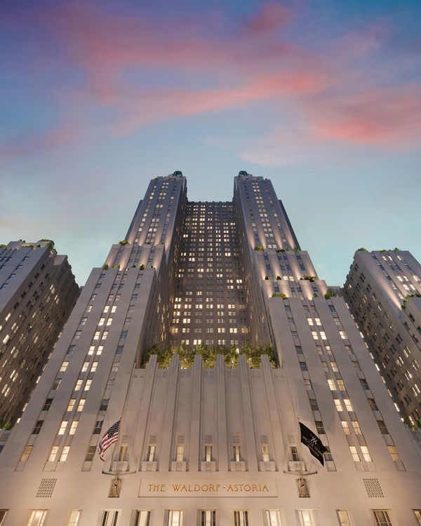 Iconic Waldorf Astoria New York Launches 'Waldorf Stories' Website To Honor The History Of The World-Renowned Hotel