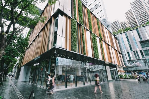 DESCENTE BLANC品牌零售空间于中国又添一店,入驻深圳万象天地