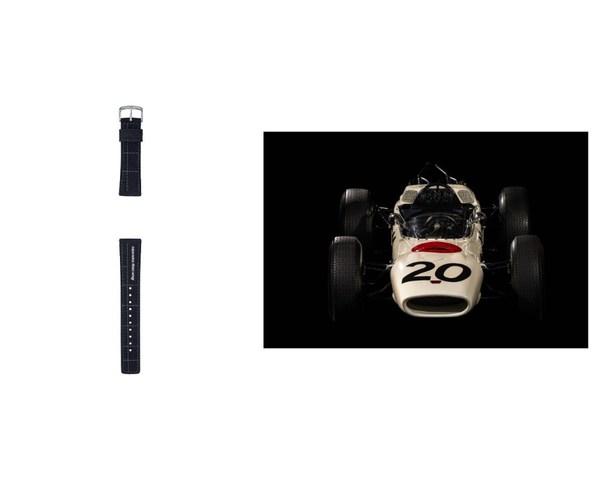 附贈尼龍表帶/本田RA271:F1TM賽場上的第一輛日本賽車,1964年代表本田車隊參賽