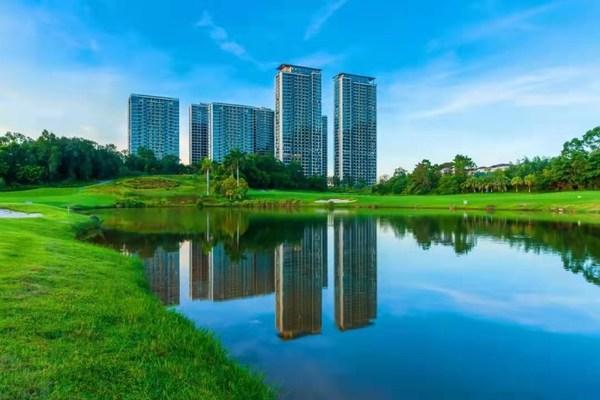 九洲绿城珠海翠湖香山国际花园实景图