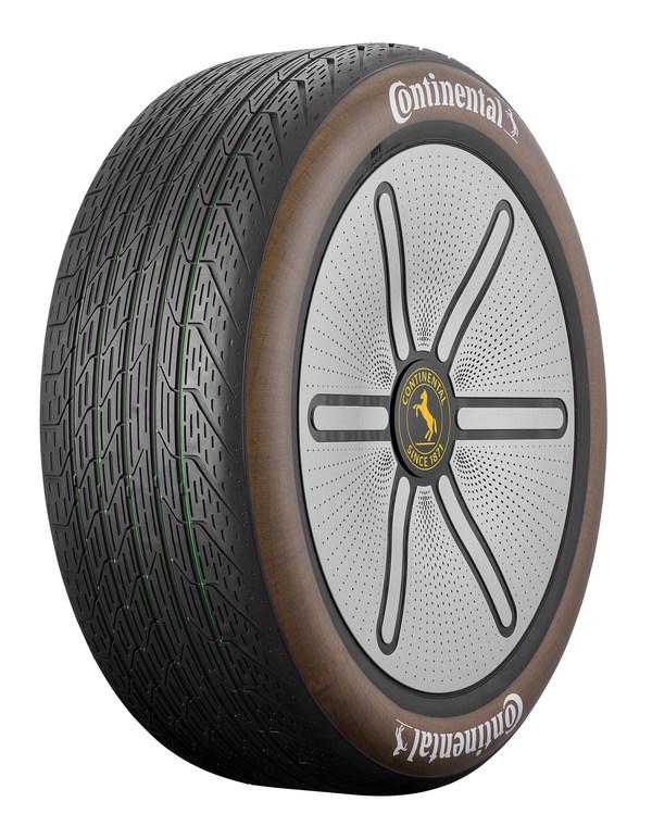 德国马牌轮胎母公司大陆集团首发Conti GreenConcept绿色概念轮胎