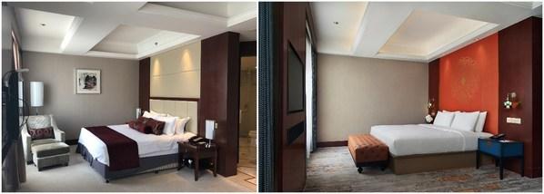 无锡万达颐华酒店改造前后对比