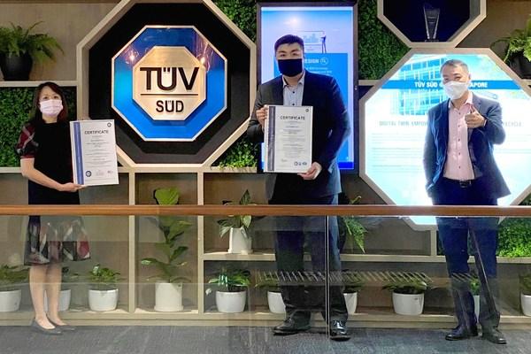 Công ty công nghệ tài chính đầu tiên của Singapore được vinh danh toàn cầu nhờ thăng hạng uy tín trong lĩnh vực thanh toán điện tử