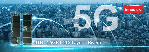 Innodiskが初の産業用グレードのPCIe 4.0 SSDsを発表、5GとAIoTを加速