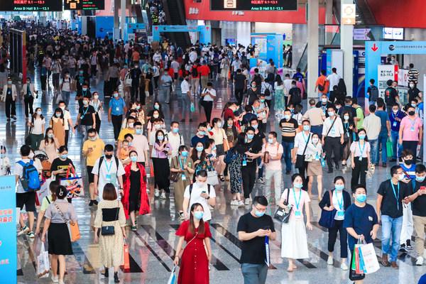 2021年9月,广州,2021年中国跨境电商交易会(秋季) 汇集了25省约10万采购商