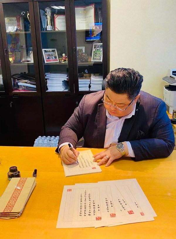 """纸短情长 长沙富力万达文华酒店""""手写家书""""传承家国文化"""