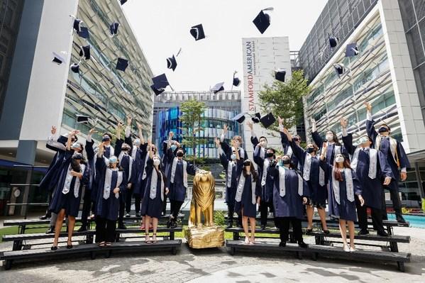 Stamford American International School's Class of 2021 celebrates 100% passing rate
