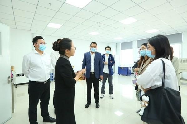 参观北京瑞贝可生物科技有限公司