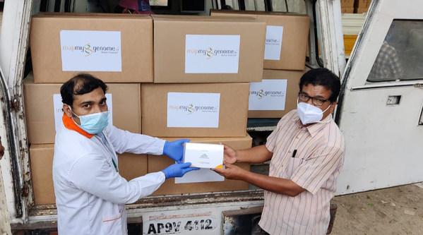 Zymo ResearchがインドのCOVID-19パンデミック根絶に取り組み、感謝の気持ちをつなぐ