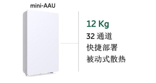 爱立信推出中频段12kg mini-AAU产品为用户提供优质5G体验