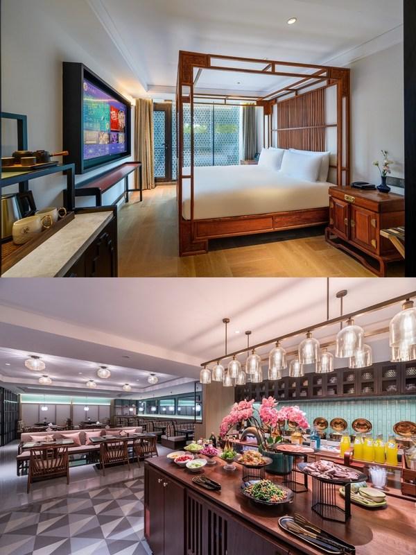 漫心·古韵南锣酒店客房和餐厅