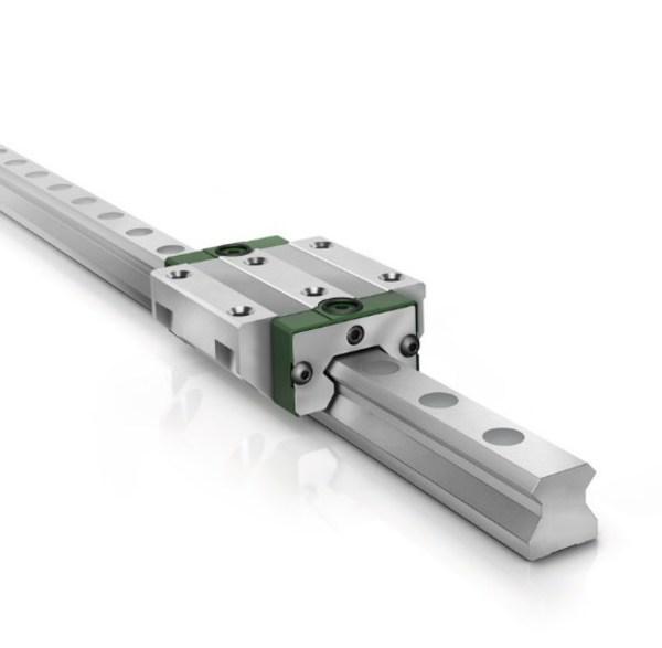 新设计的RUE-F第六代直线循环滚柱导轨组件