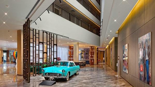 伊斯坦布尔万达文华酒店酒店大堂