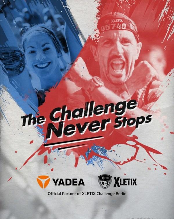 情熱的、強力、活動的:YadeaがドイツのXLETIX Challenge Berlinの公式パートナーに