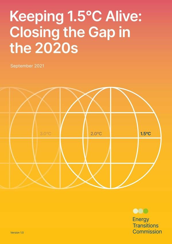 新エネルギー移行委員会の要約報告書 - 地球温暖化による気温上昇幅を1.5°Cに抑えるための6つの行動