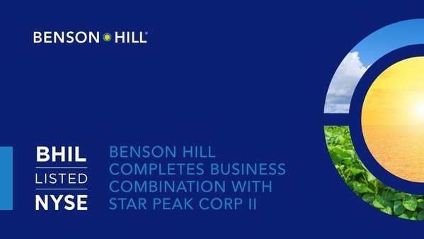 Benson Hill Completes Business Combination with Star Peak Corp II