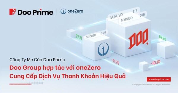 Công Ty Mẹ Của Doo Prime, Doo Group Hợp Tác Với oneZero Cung Cấp Dịch Vụ Thanh Khoản Hiệu Quả