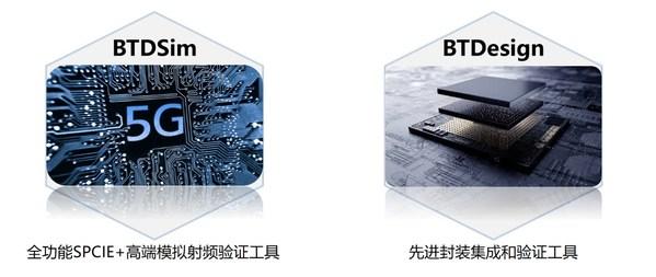 比昂芯主要产品BTDSim、BTDesign