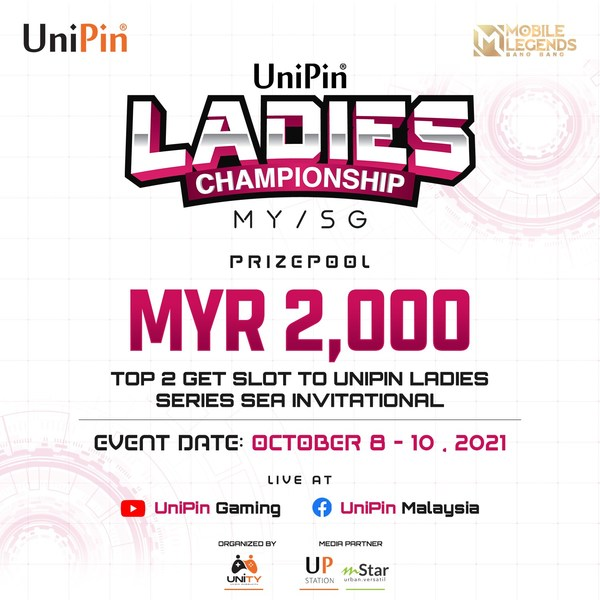 UniPin Ladies Championship Arrives in Malaysia to Bring the Best Out of The Female Esports Scene
