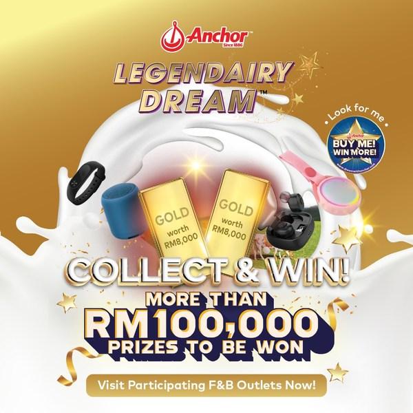 Anchor Legendairy Dream Rewards Campaign Poster