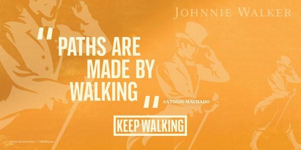 Johnnie Walker, 새로운 Keep Walking 캠페인 개시