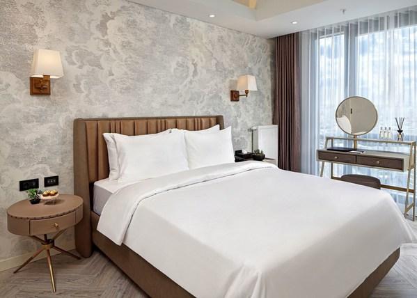 Kamar tidur di Wanda Vista Residence