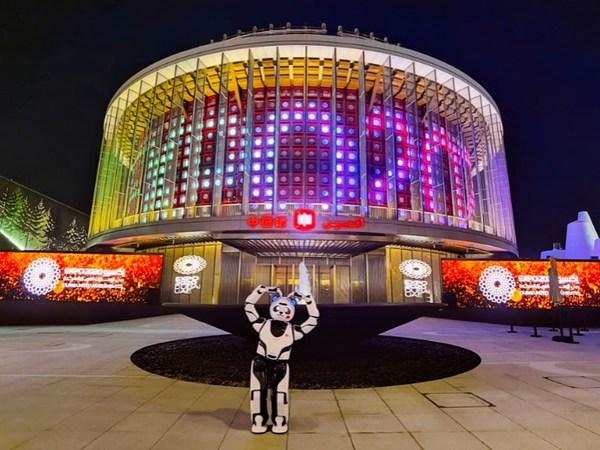 2020 두바이엑스포 - UBTECH Panda Robot, 중국관에서 눈길 사로잡아