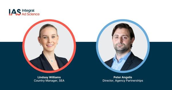 Lindsay Williams, Country Manager, Asia Tenggara, IAS, dan Peter Angelis, Director Agency Partnerships, IAS