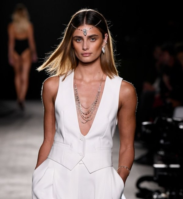 Taylor Hill. Messika by Kate Moss