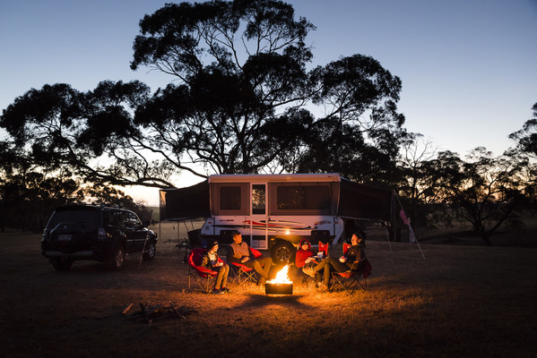 Bali or the Bush? In spite of international borders opening later this year, Australians pre-book domestic Summer camping holidays in record numbers