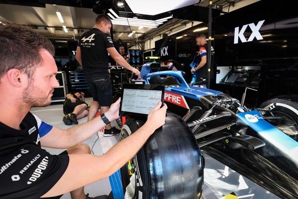 Alpine F1 Team Signs Global Enterprise Deal For KX Insights