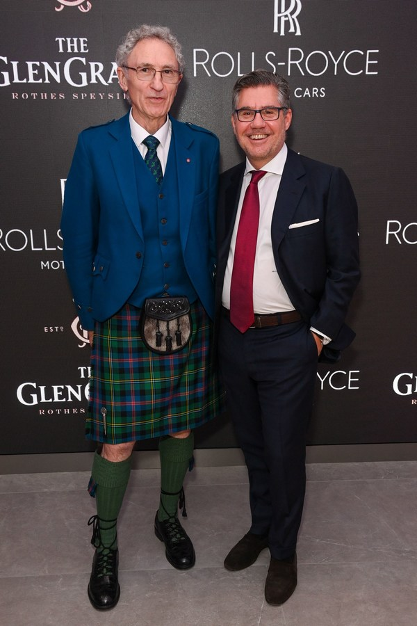 The Glen Grant® hosts exclusive Launch Event In Partnership with Rolls Royce to Celebrate Dennis Malcolm Anniversary Edition Aged 60 Years