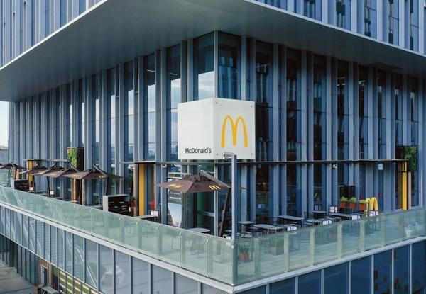 麦当劳中国总部旗舰餐厅亮相上海西岸