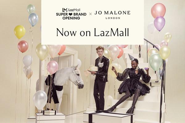 """Jo Malone London mewujudkan pengalaman belanja virtual """"scent-sa-tional"""" di Asia Tenggara bersama Lazada"""