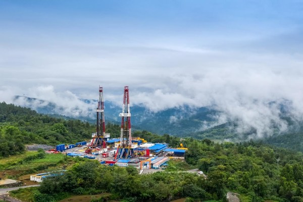 Sinopec涪陵シェールガス田が過去最高の400億立方メートルの累積生産量を樹立
