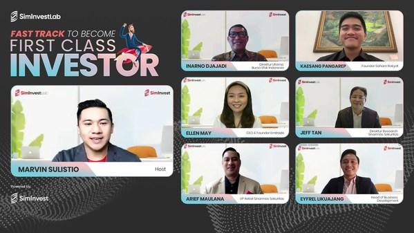 Virtual Press Conference SimInvestLab