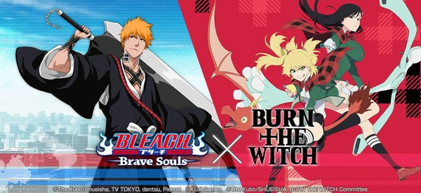 """""""Bleach: Brave Souls"""" x Burn the Witch Collaboration Event Round 2 Debuts Bruno Bangnyfe In-Game"""