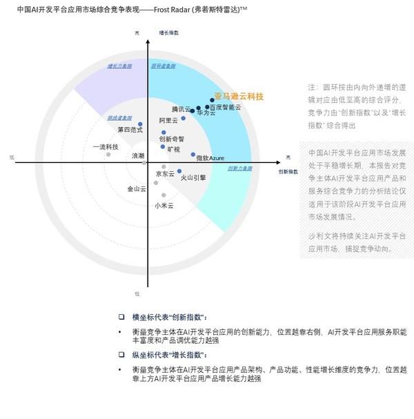 亚马逊云科技位居中国AI开发平台榜首