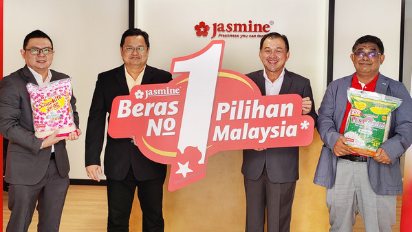 Jasmine Food Corporation Gives 25,000 Bags of Rice as Appreciation for Achieving Top Rice Brand Status