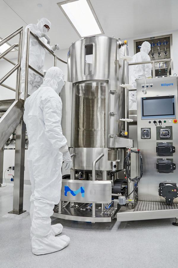 머크, 유전자 치료를 위한 새로운 바이러스 벡터 계약 개발 제조 시설 완성