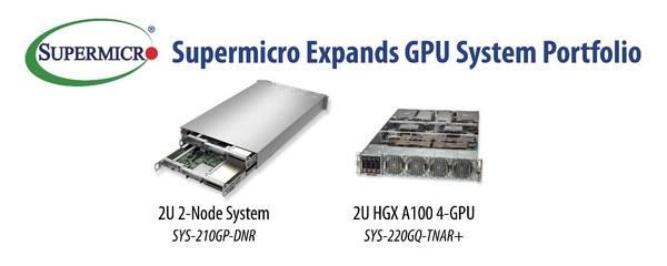 Supermicro、AIやHPC、クラウドのさまざまなワークロードを加速させる革新的なGPUシステムのポートフォリオを拡大