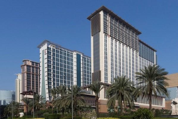 澳門喜來登大酒店榮獲《Conde Nast Traveler》雜誌評選為「2021讀者之選–亞洲中國地區二十佳酒店」中第十五位