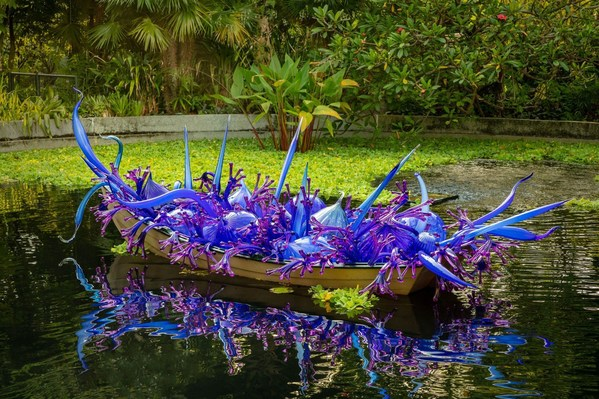 《Dale Chihuly: Glass in Bloom》展推出虚拟体验版