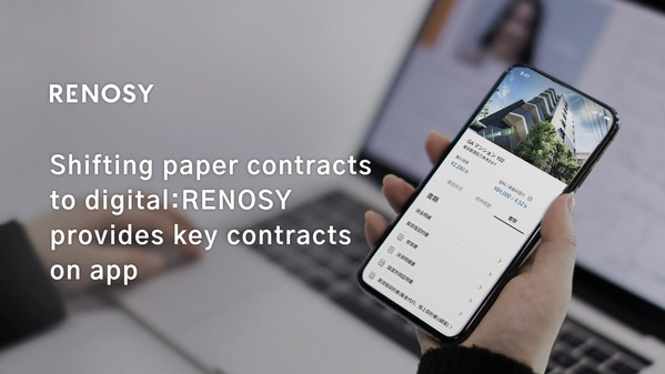 Shifting paper contracts to digital: GA technologies iBuyer business RENOSY provides key contracts on app