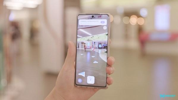 맥스트, '메타버스 플레이그라운드'서 스마트안경용 AR 내비게이션 선보여