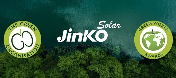 JinkoSolar Gets Recognition as the Winner of the Green World Awards 2021