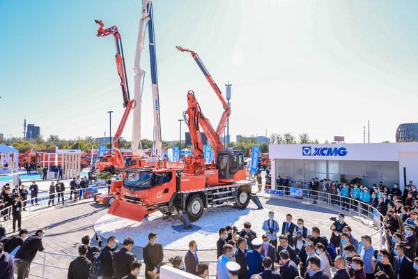 XCMG ra mắt các sản phẩm thiết bị cứu hộ khẩn cấp tiên tiến tại China Fire 2021