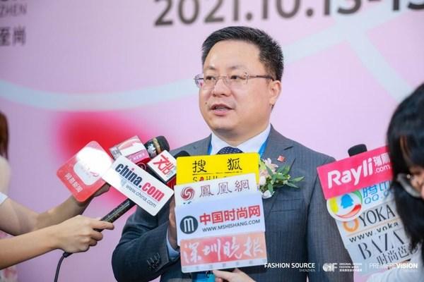 智奥会展(上海)有限公司中国区首席执行官周建良接受媒体采访